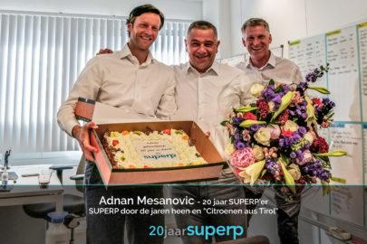 20jaar bestaan SUPERP Adnan