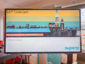 SAP CodeJam SUPERP 2